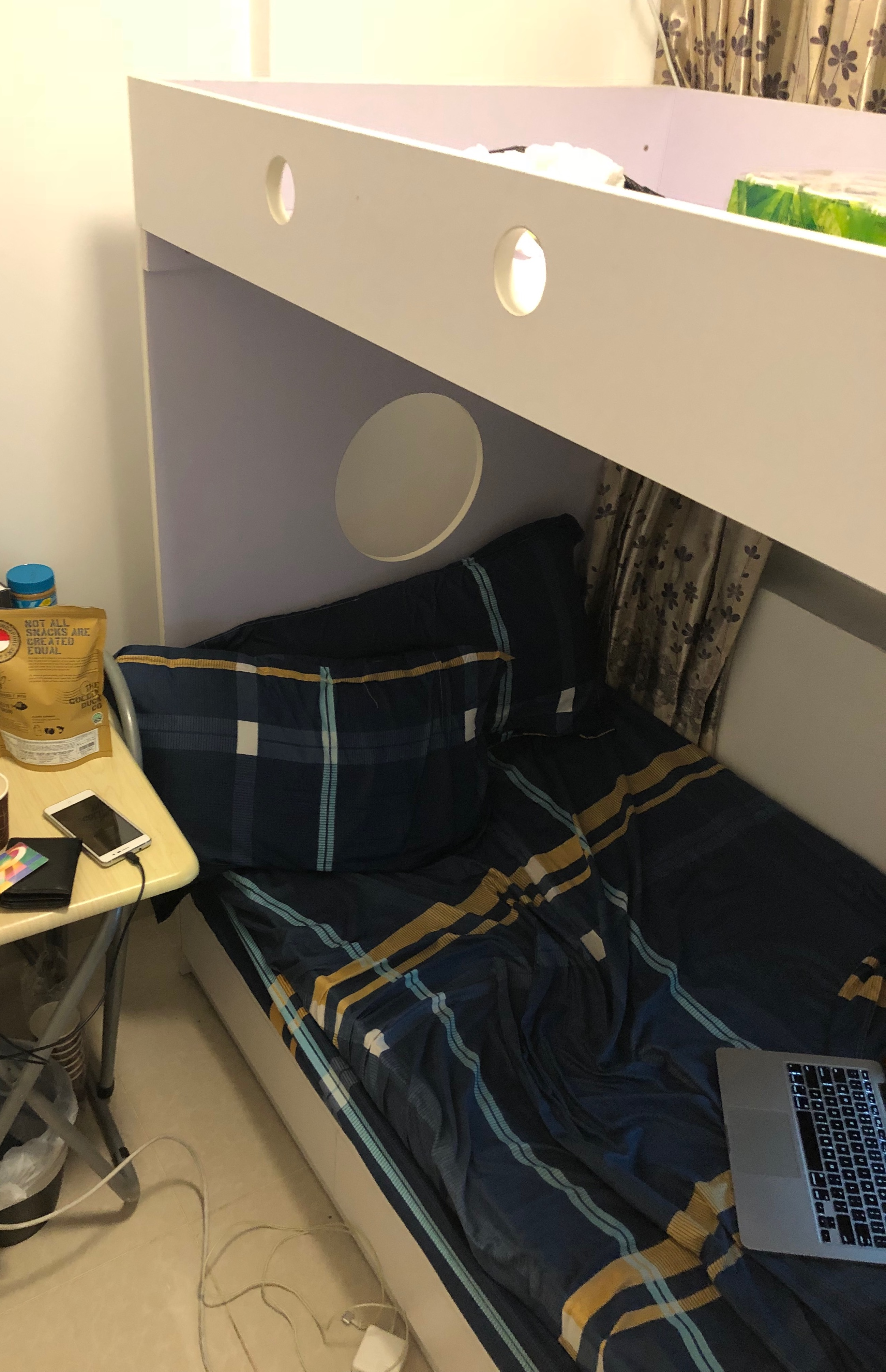 Tiny airbnb in Hong Kong
