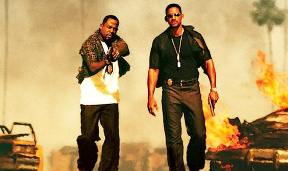 Bad boys with Will Smith