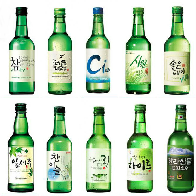 Soju from south korea